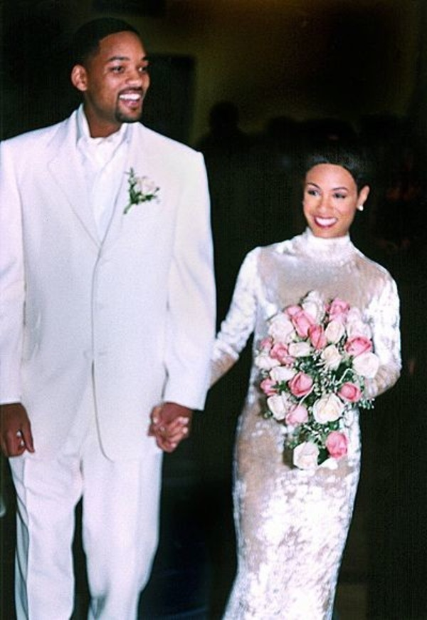 Will Smith and Jada Pinkett Smith wedding