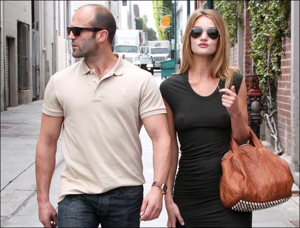 Rosie Huntington-Whiteley and Jason Statham don't publicize their relationship