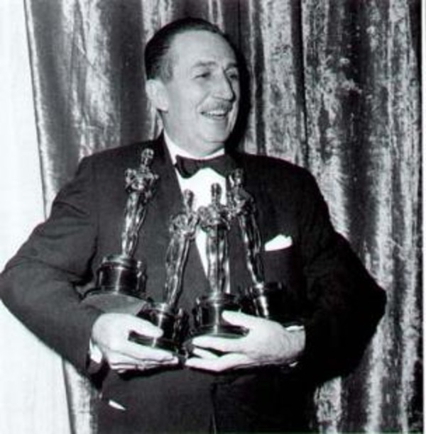 Walt Disney got 29 Oscars