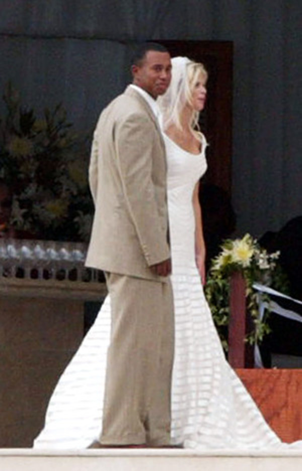 Tiger Woods and Elin Nordegren wedding