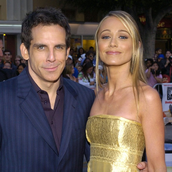 Ben Stiller and Chrisine Taylor started dating after a long period of friendship