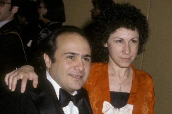 Rhea Perlman and her husband Danny DeVito