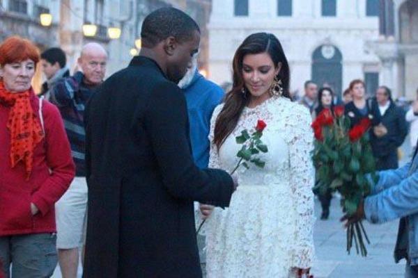 Kanye West wife Kim Kardashian