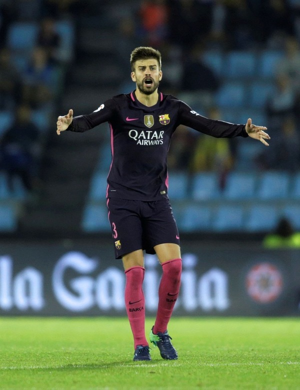 Gerard Piqué led Barcelona to several victories