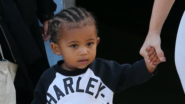 Kim Kardashian and Kanye West cute son Saint