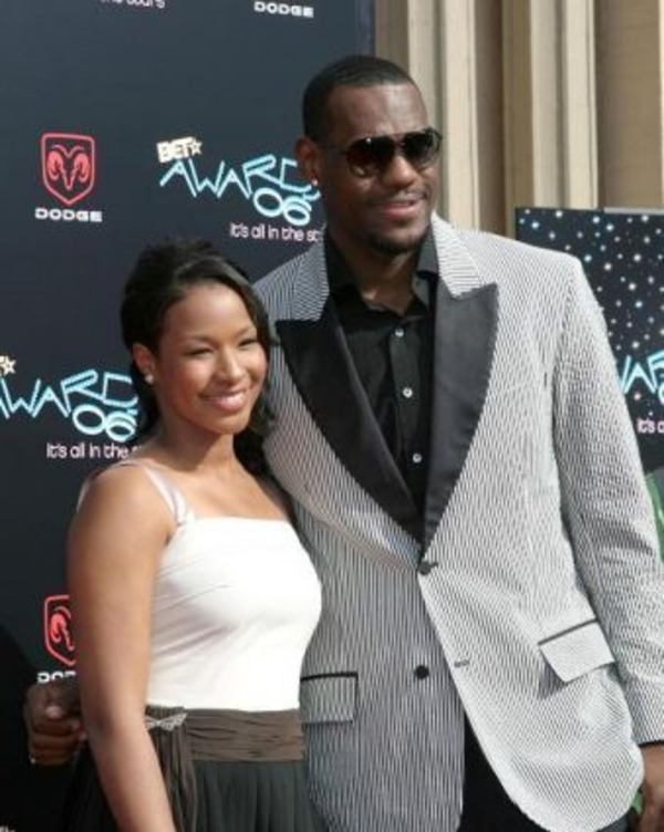 Savannah Bryson James as LeBron James wife