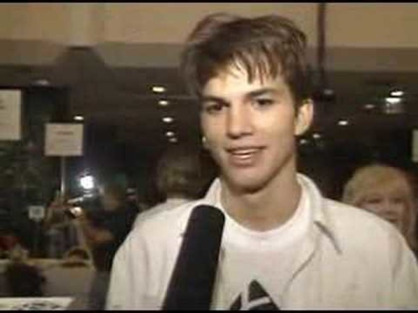 Ashton Kutcher young