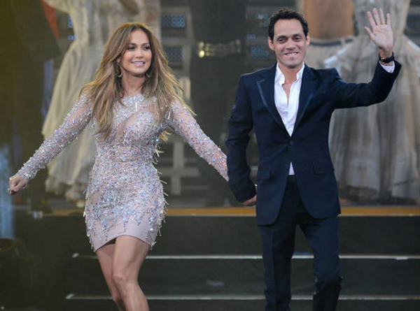 Marc Anthony and Jennifer Lopez performed together numerous times