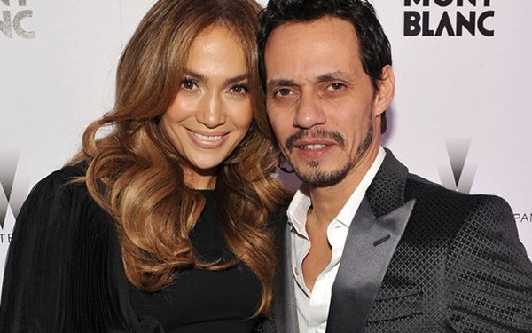 Jennifer Lopez husband Marc Anthony (ex)
