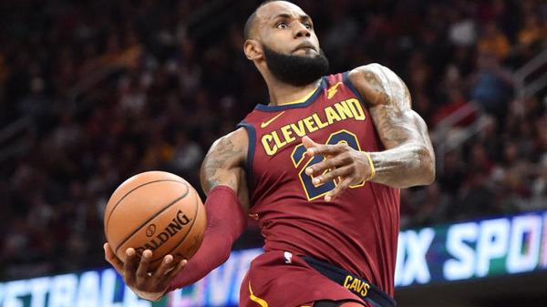 The NBA star LeBron James