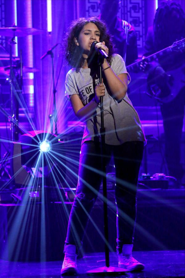 Alessia Cara singing