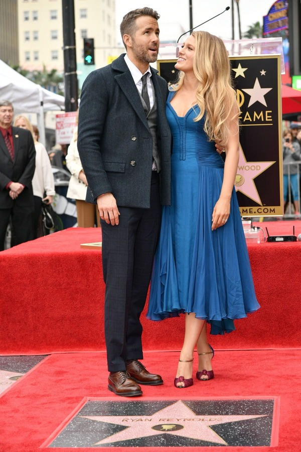 Ryan Reynolds beautiful wife Blake Lively