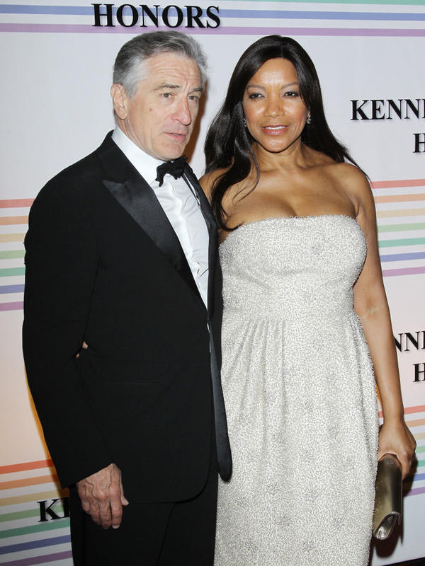 Robert De Niro with his current wife Grace Hightower