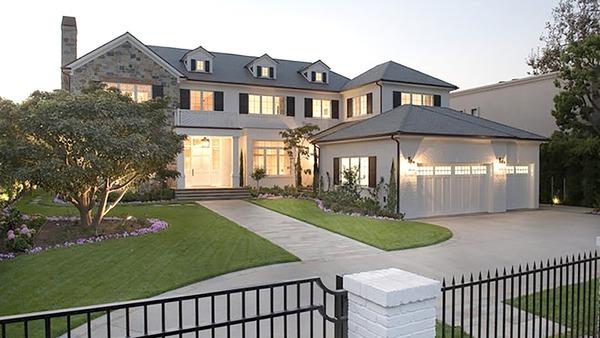 LeBron James Jr parents mansion in LA
