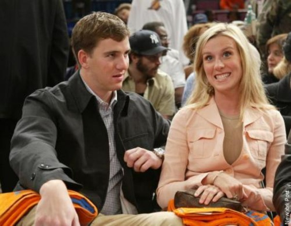 Eli Manning and Abby Mcgrew met in the University of Mississippi