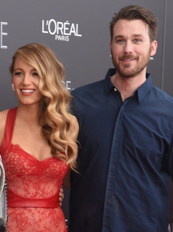 Blake Lively and her brother Eric