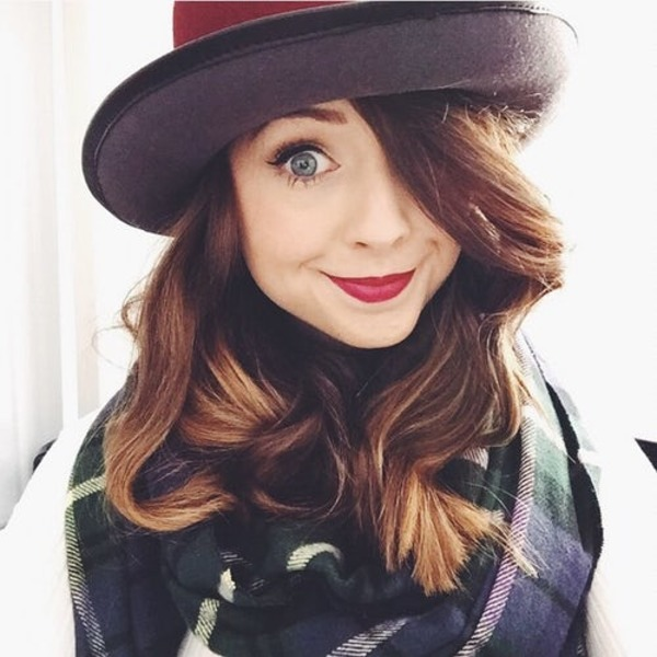 Zoella real name is Zoe Sugg