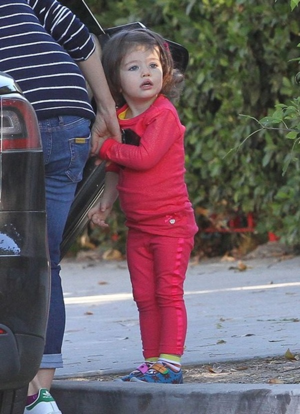 Mila Kunis daughter Wyatt