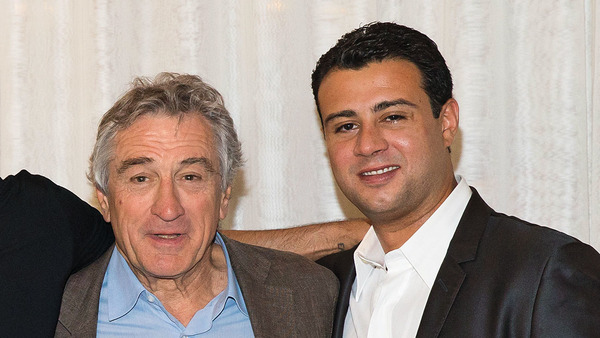 Robert De Niro with his son Raphael De Niro