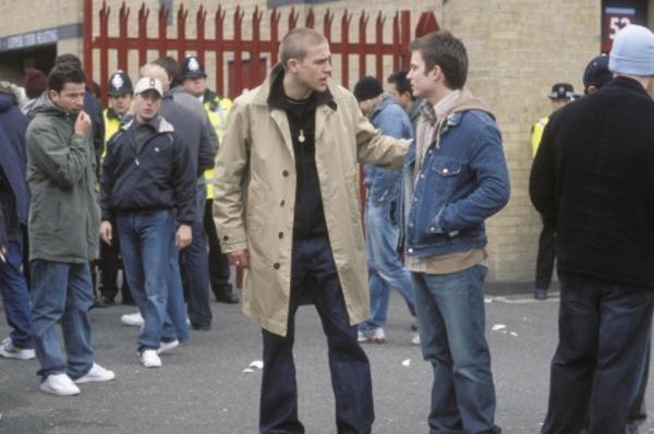 Elijah Wood and Charlie Hunnam in Hooligans