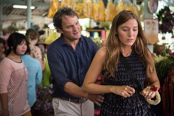 Jason Clarke and Blake Lively in All I See Is You