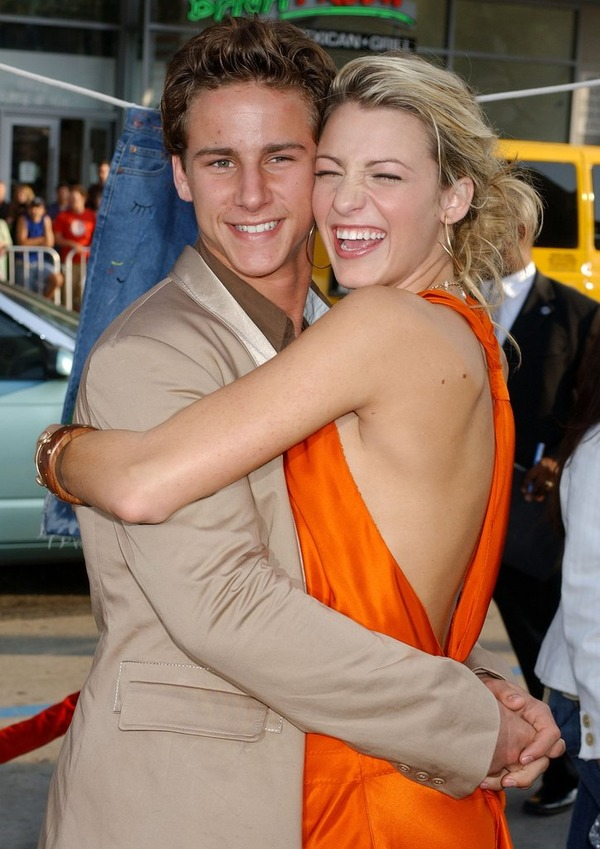 Blake Lively and her first known boyfriend Kelly Blatz