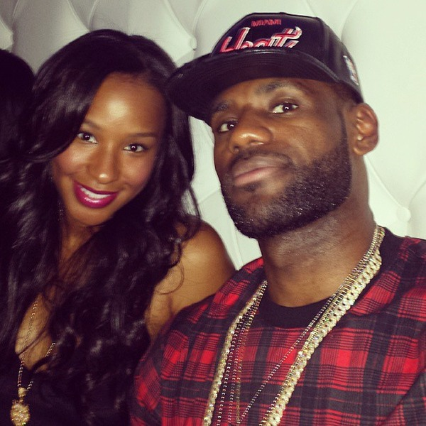 LeBron James wife Savannah Brinson