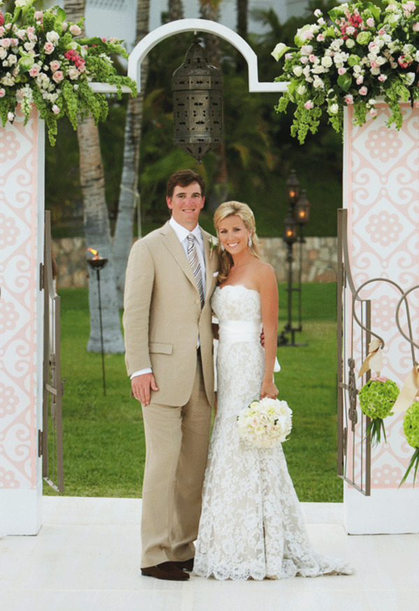 Eli Manning and Abby Mcgrew Wedding