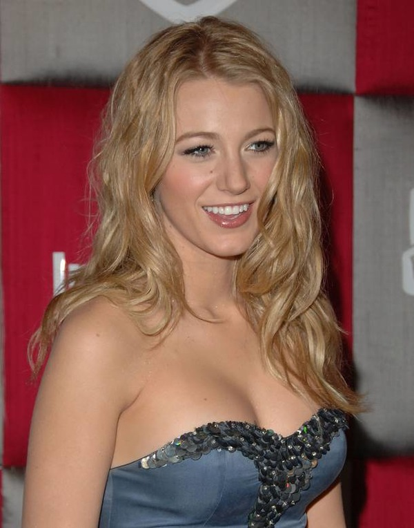 The young actress Blake Lively