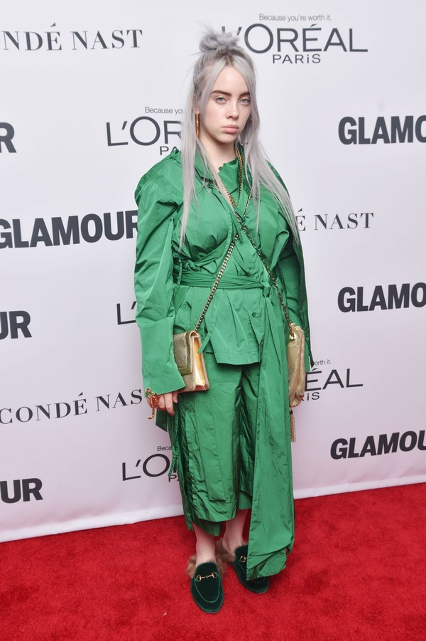 Billie Eilish is a rising music star with a unique fashion style