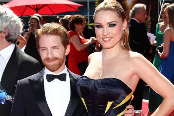 Seth Green and his wife Clare Grant