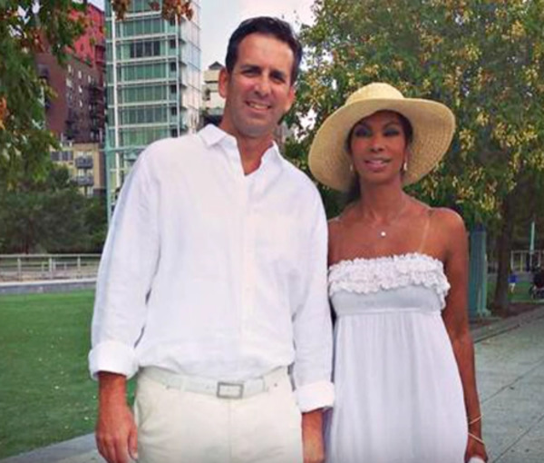 Harris Faulkner husband Tony Berlin with his famous wife