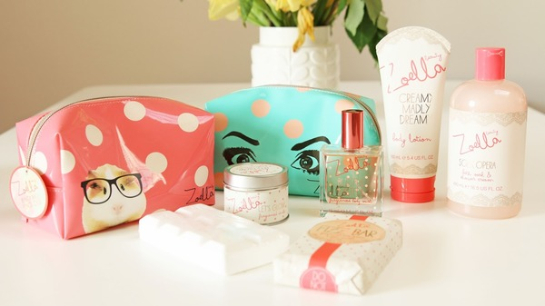 Zoella beauty range