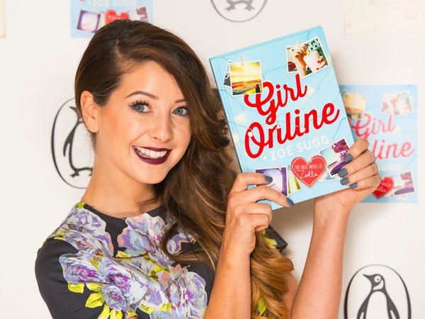 """Zoella book """"Girl Online"""""""