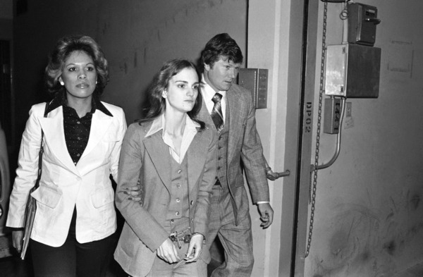 Patty Hearst was caught by FBI