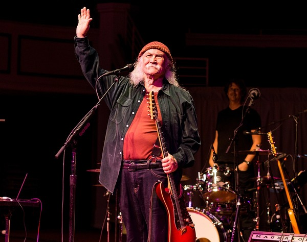 David Crosby is a famous singer and songwriter