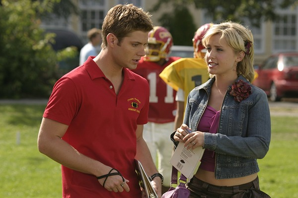Jensen Ackles and Allison Mack in Smallville