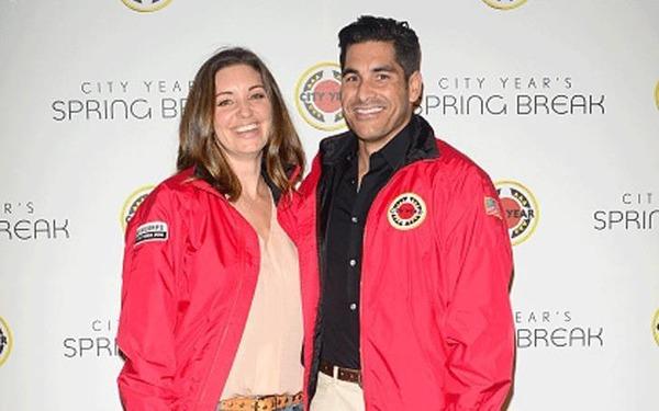 Bianca Kajlich and Mike Catherwood