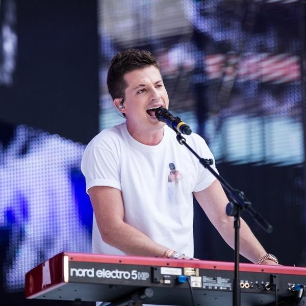 Charlie Puth singing