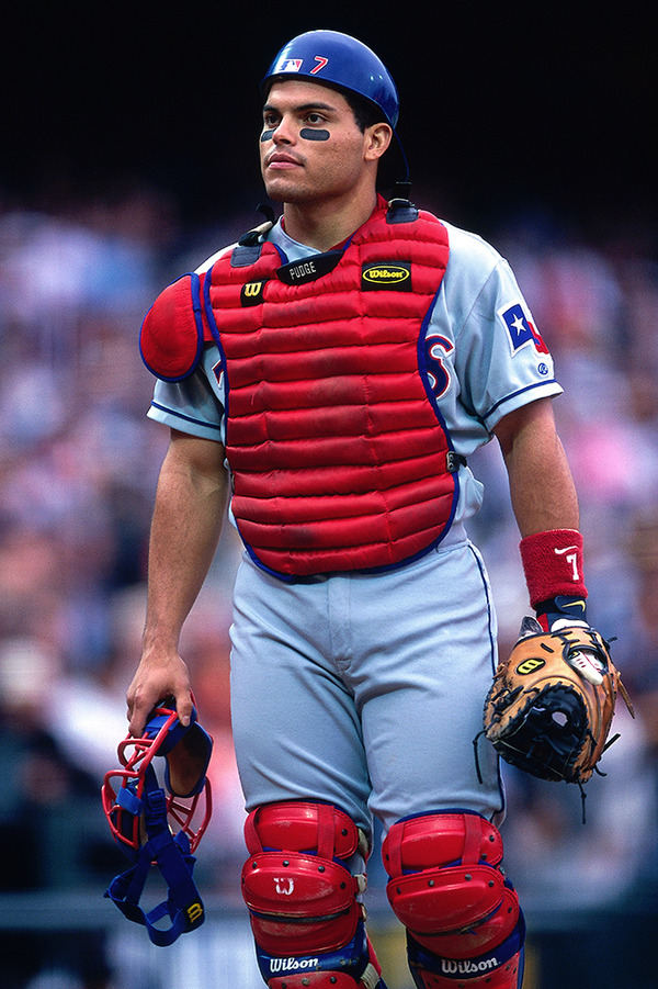Ivan Rodriguez played baseball since 8