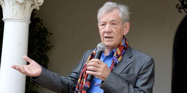 Gay icon Ian McKellen