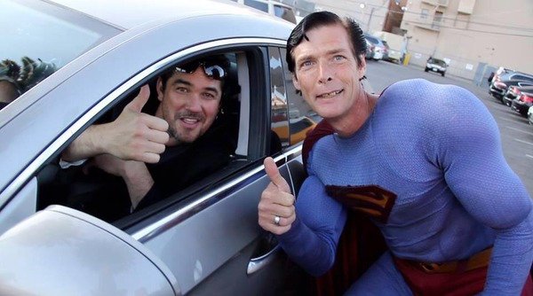 Dean Cain car (the actor with Hollywood Blvd. Superman)