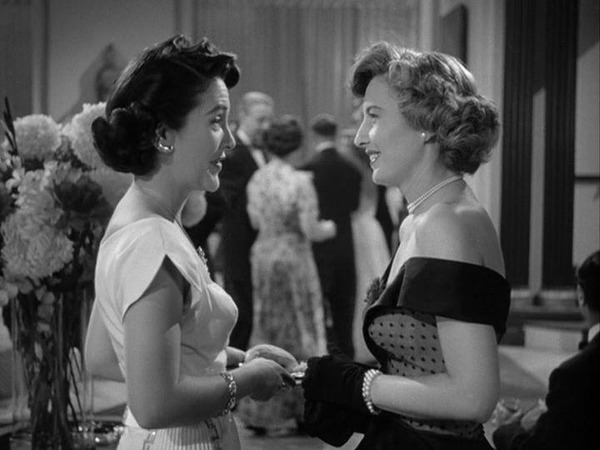 Barbara Stanwyck and Nancy Reagan in East Side, West Side