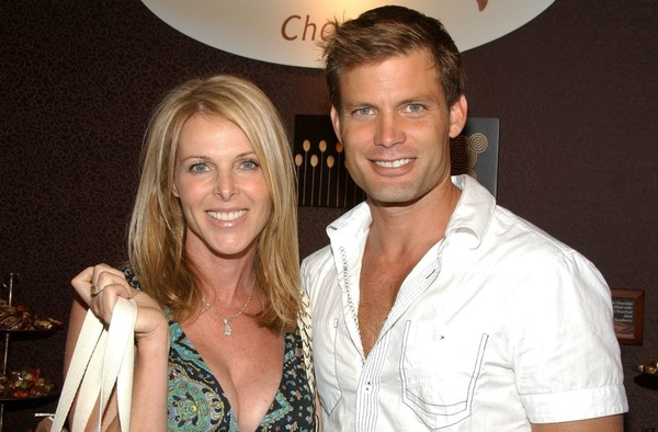 Catherine Oxenberg and her ex-husband Casper Van Dien