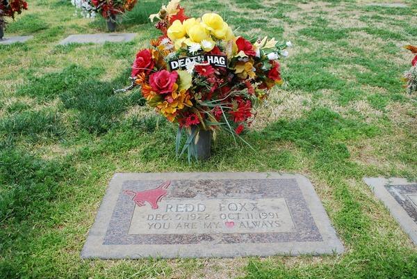 Redd Foxx grave