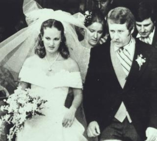 Patty Hearst wedding