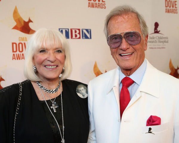 Pat Boone and his wife Debby