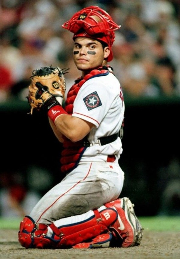 Ivan Rodriguez is a celebrated baseball catcher