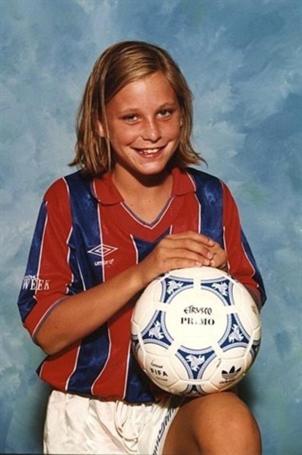 Abby Wambach young