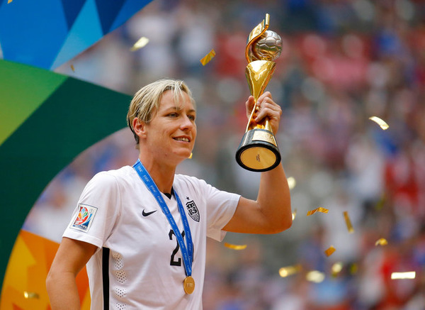 Abby Wambach is a record-setting soccer player